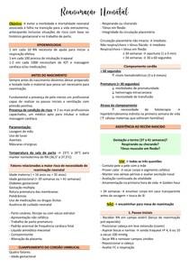 Reanimação Neonatal - Pediatria