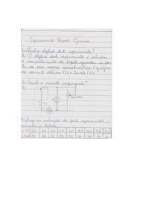 Tarefa 2 Eletricidade básica Engenharia UNIP 2/3° Semestre