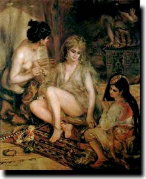 Renoir - Parisiennes in Algerian Costume or Harem