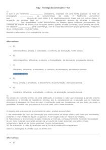 Adg2 - Tecnologia das Construções II - Ecv