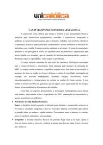 SAÚDE DA MULHER-ERGONOMIA, EXERCÍCIOS E PREPARAÇÃO PARA O PARTO-ATUAÇÃO DO FISIOTERAPEUTA