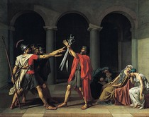 Jacques Louis David - Oath of the Horatii