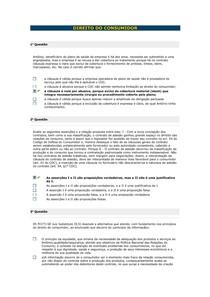 Direito do Consumidor - Aula 05 VIII