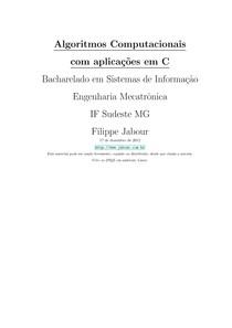 Algoritmos Professor Filipe Jabour