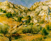 Renoir - Rocky Crags at lEstaque