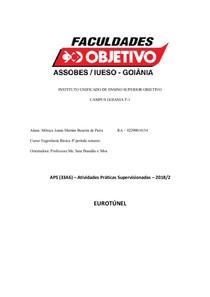 TRABALHO EUROTUNEL 2