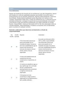 Apol 4-ÉTICA EMPRESARIAL