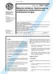 NBR 13202   1997   Materiais Refratários   Determinação da Resistência ao Choque Térmico com Resf
