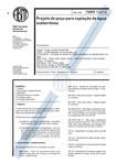 NBR 12212 - 1992 - projeto de poço para captação de água subterrânea