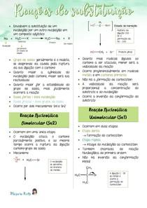 Reações de Substituição Nucleofílica (Sn1 e Sn2)