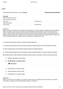 APOL 02 Gestão de mapeamento e Sistema de informação gerencial