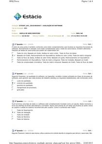 AV1 - Avaliação de Software