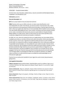 Caso Clínico Leucemia Mieloide Crônica