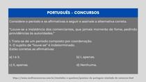 Português - Estrutura (frase)