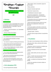 VIAS DE ADMINISTRAÇÃO E ASPECTOS BIOFARMACÊUTICOS pt 1