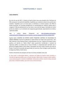DIREITO-CONSTITUCIONAL- II AULA 5