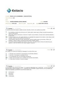 AV3 de Analise textual 2014
