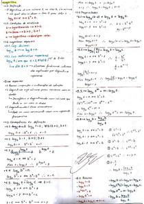 Resumo logaritmos