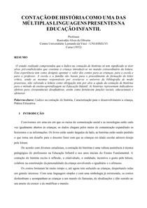 PAPER CONTAÇÃO DE HISTÓRIAS