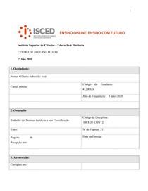 Introducao ao direito-Normas Jurídicas e sua Classificação PDF