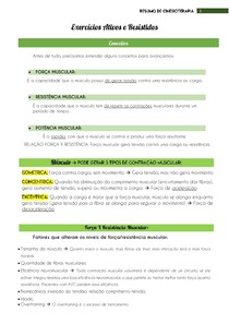 Exercícios ativos e resistidos - Cinesioterapia - @eduardareisnafisio