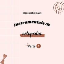 Instrumentais de ortopedia veterinária