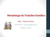 MTC - Método científico, técnicas e formas de raciocínio