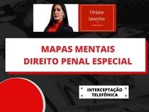 Mapas mentais - interceptação telefônica