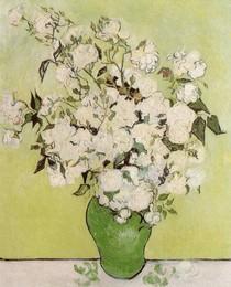 Vincent Willem van Gogh-ainda-vida-de-rosa-Roses-em-Vase