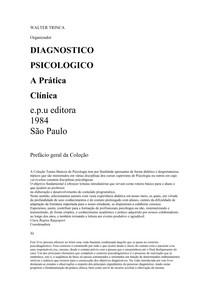 Diagnostico Psicologico A Pratica Clinica