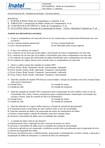 Exercícios Arquiteturas de Redes e Conceitos Básicos