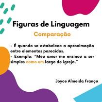 Figuras de Linguagem -Comparaçaõ