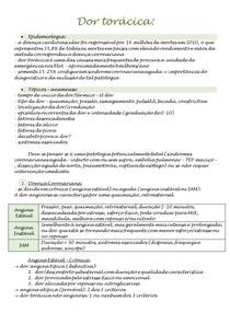 Semiologia - Dor torácica