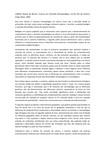 Resenha - LARAIA, Roque de Barros. Cultura um Conceito Antropológico. 14 Ed. Rio de Janeiro; Jorge Zahar, 2001.