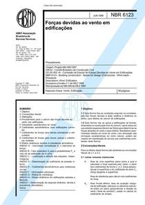 NBR 6123 - Forças Devidas ao Vento em Edificações