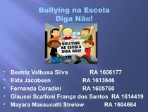 Bullying na Escola Painel Slides  (1)