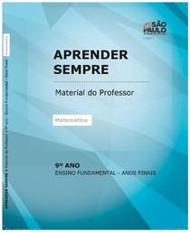 caderno-professor-matemtica -9 ano