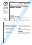 NBR 5431 ABNT   1987   PB 23   Caixas de derivacao para uso em instalacoes eletricas domesticas e