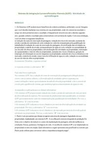 ATIVIDADES DE APRENDIZAGEM - SISTEMA DE INTEGRAÇÃO LAVOURA-PECUÁRIA-FLORESTA