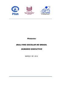 PESQUISA : BULLYING ESCOLAR NO BRASIL