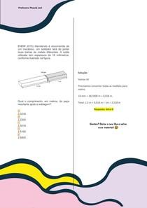 ENEM 2015) Atendendo à encomenda de um mecânico, um soldador terá de juntar duas barras de metais diferentes. A solda utilizada tem espessura de 18 milímetros, conforme ilustrado na figura.