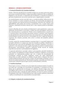 MÓDULOS CONTROLE DE CONSTITUCIONALIDADE
