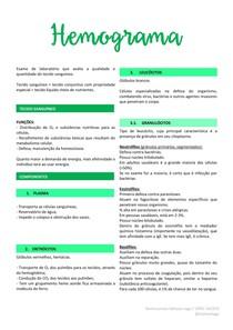 Hemograma - Resumo