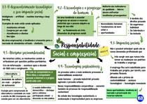 Mapa mental da quarta aula de Responsabilidade Social e Empresarial