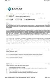 AVS - Processo de Desenvolvimento de Software_2014.1