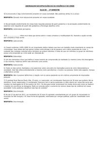 ABORDAGEM SOCIOPSICOLÓGICAS AULA 03