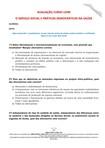 AVALIAÇÃO CURSO LIVRE   SERVIÇO SOCIAL E PRÁTICAS DEMOCRÁTICAS NA SAÚDE (2)
