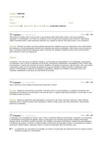 AV Didática  3º Semestre Letras em Língua Portuguesa