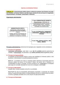 Resumo Agentes e Contratações Públicas (ADM I)