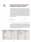 Apêndice A - Nomenclatura de Comp Org Polifuncionais v1
